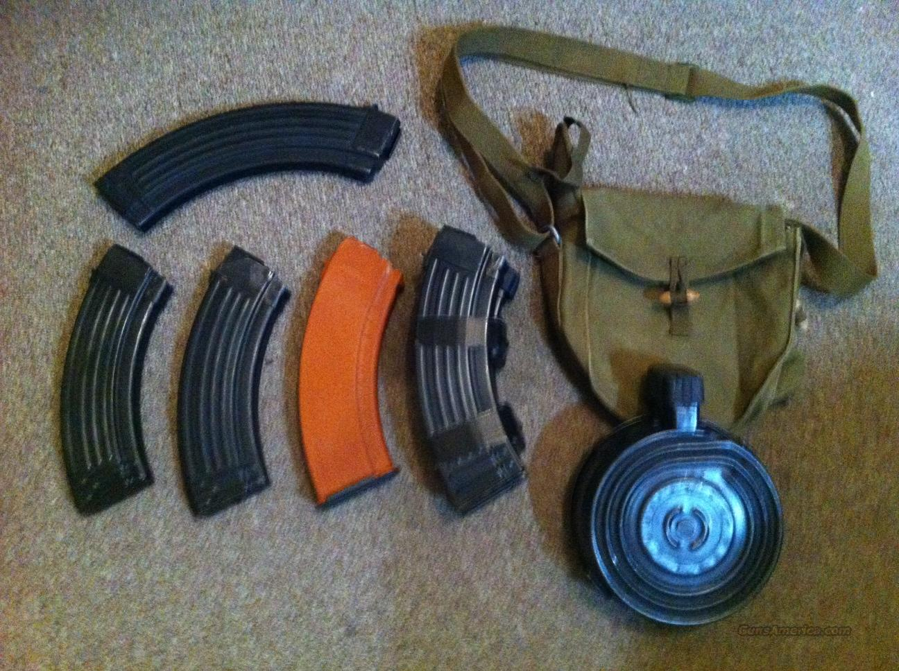 AK-47 Drum and Mags  Non-Guns > Magazines & Clips > Rifle Magazines > AK Family