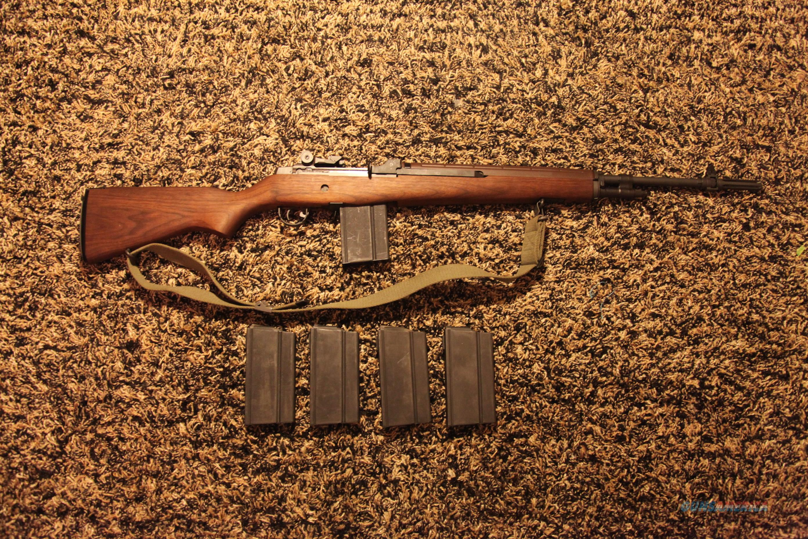 SPRINGFIELD M1A1 LOADED W/ 20-RD MAGS & SLING  Guns > Rifles > Springfield Armory Rifles > M1A/M14