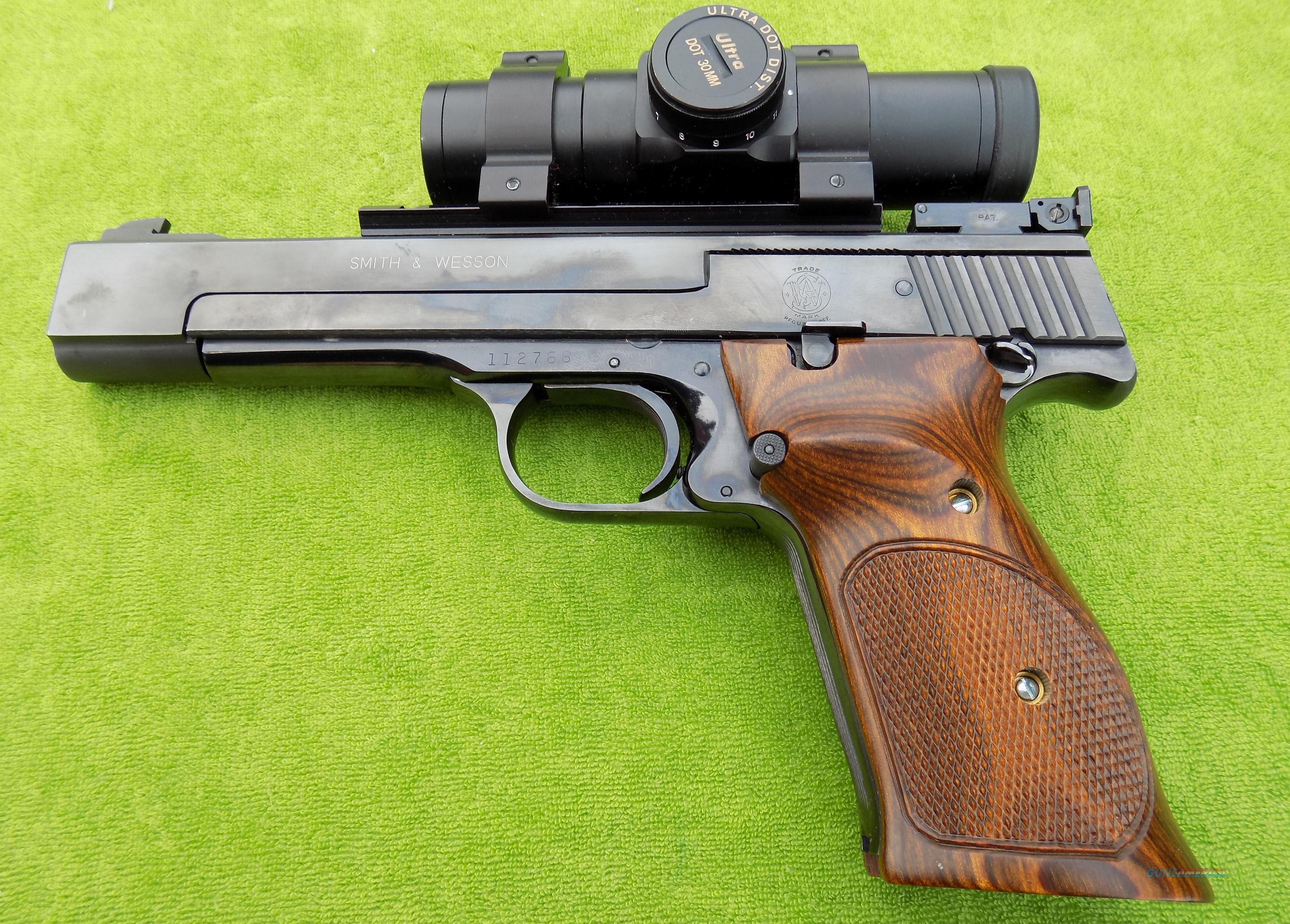 Smith & Wesson Model 41 with Red Dot Optic for sale
