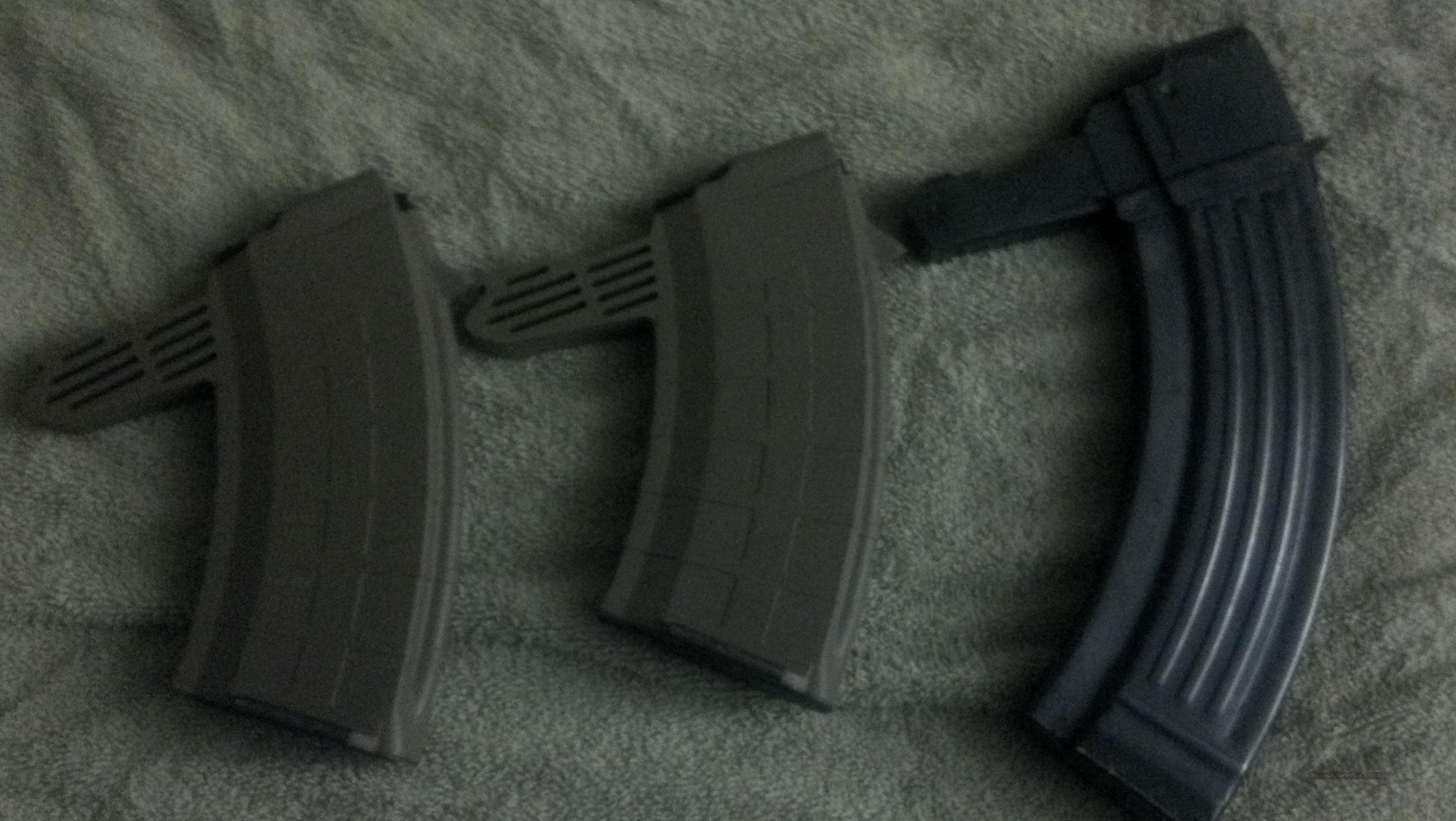 (2) New Tapco 20 round mags & (1) 30 round metal mag  Non-Guns > Magazines & Clips > Rifle Magazines > SKS