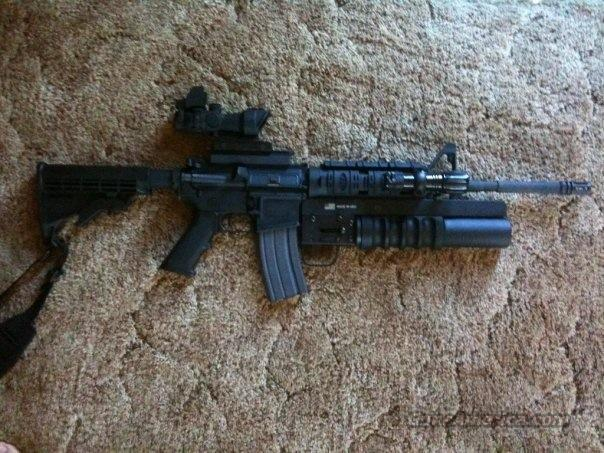 Smith & Wesson -- MP15 Model 811000 .223/5.56  Guns > Rifles > Smith & Wesson Rifles > M&P