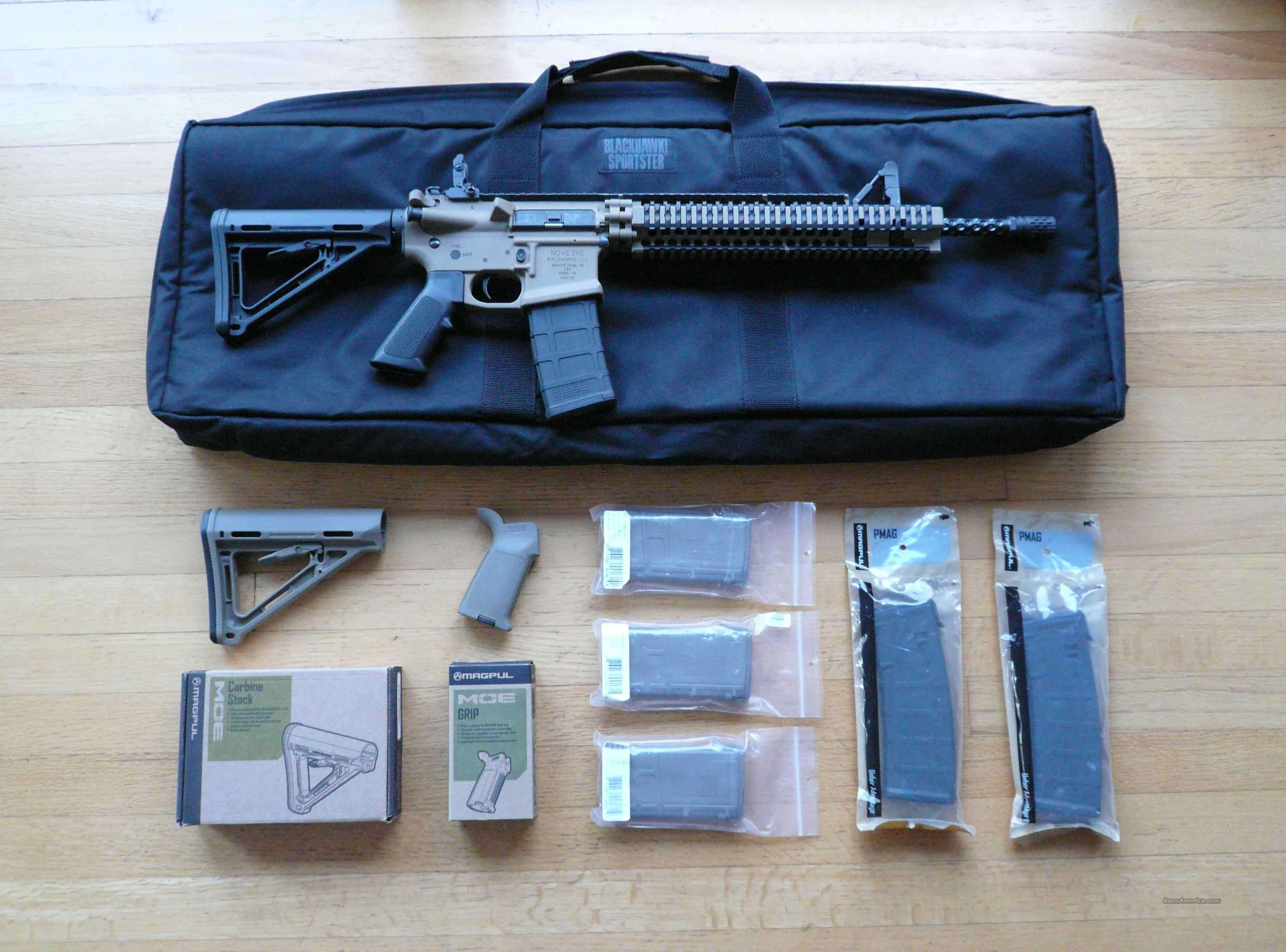 Noveske .556X45 NATO / .223 (New Unfired) Custom   Guns > Rifles > AR-15 Rifles - Small Manufacturers > Complete Rifle