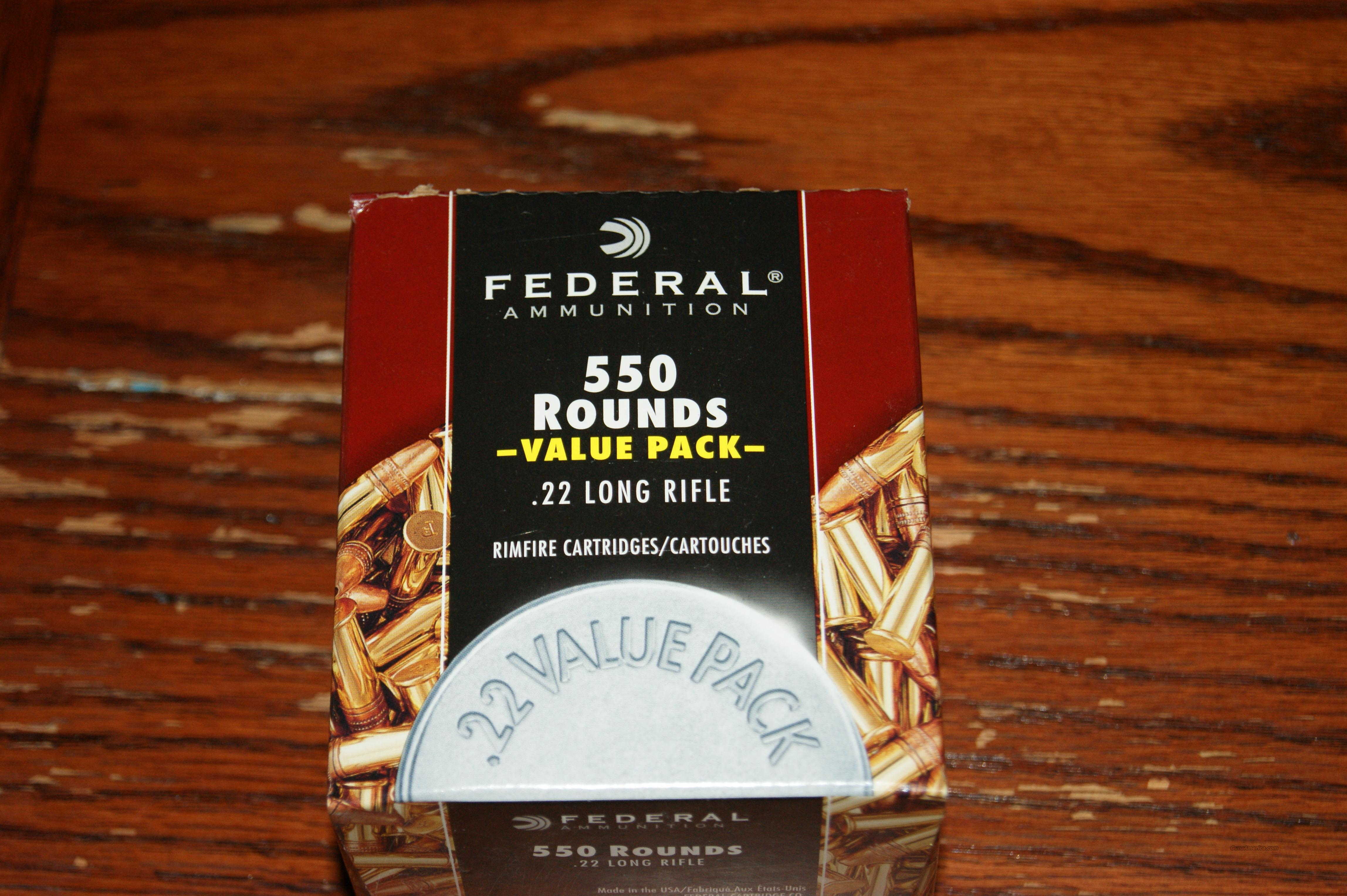 federal .22 550rds 36gr hp  Non-Guns > Ammunition