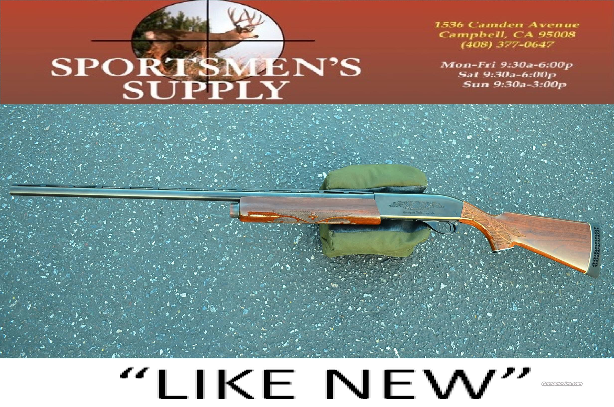 "REMINGTON 1100 SEMI AUTO 12 GAUGE 3"" MAGNUM  Guns > Shotguns > Remington Shotguns  > Autoloaders > Hunting"