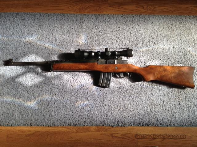 RUGER MINI-14 RANCH with 4 - 20 rd mags.  Guns > Rifles > Ruger Rifles > Mini-14 Type