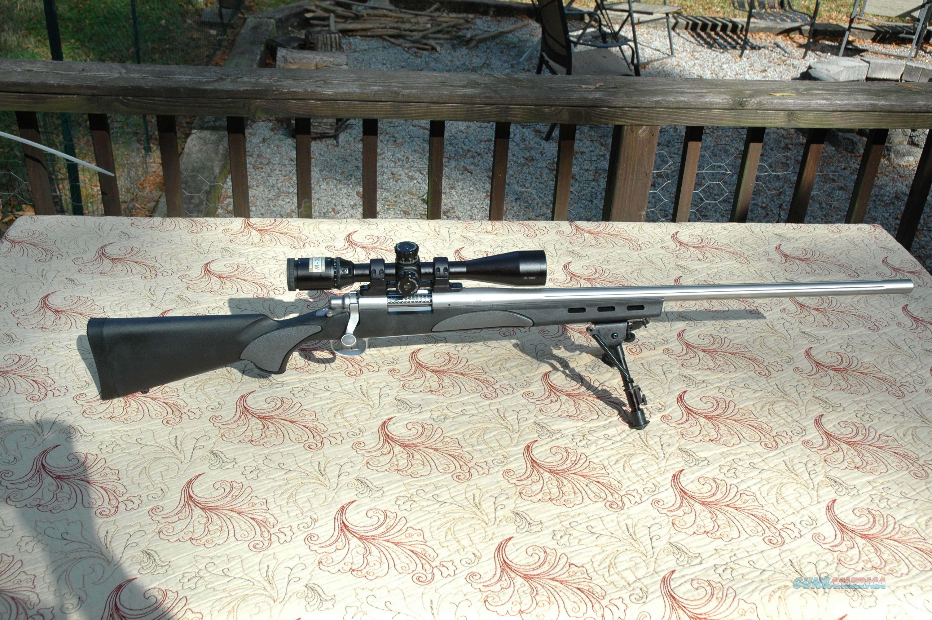 "Remington 700 VSF Stainless 26"" Heavy Fluted 308  Guns > Rifles > Remington Rifles - Modern > Model 700 > Sporting"