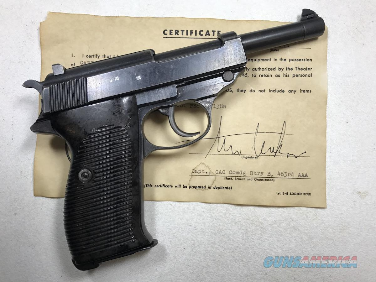 NAZI @@RARE@@ P38 WALTHER GROUPING MINT MINT  Guns > Pistols > Military Misc. Pistols Non-US