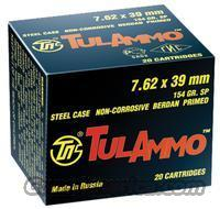 "7.62x39 154gr Spire-Point ""TulAmmo"" - 400 RDS  Non-Guns > Ammunition"
