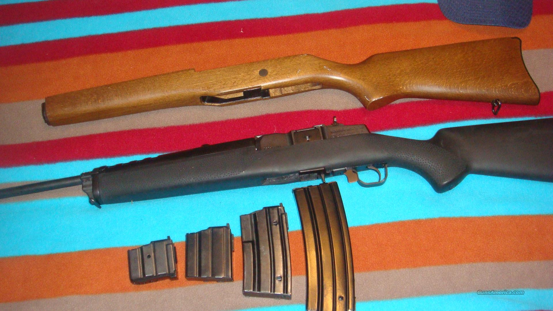 Ruger Mini 14 semi-auto,2 stocks,extra mags  Guns > Rifles > Ruger Rifles > Mini-14 Type