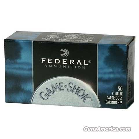 Large Lot of 1000 Rounds of Federal Game-Shok Hyper Velocity HP  22 LR Ammo 1430 FPS!  Non-Guns > Ammunition