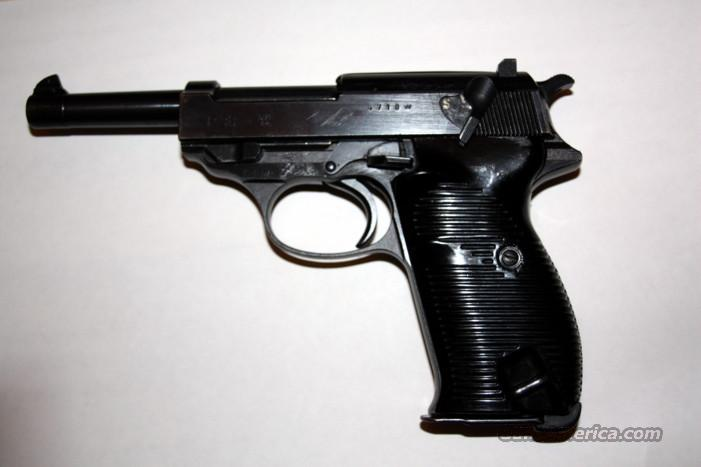 Walther P38, S/A, S/N 4710W  Guns > Pistols > Walther Pistols > Pre-1945 > P-38