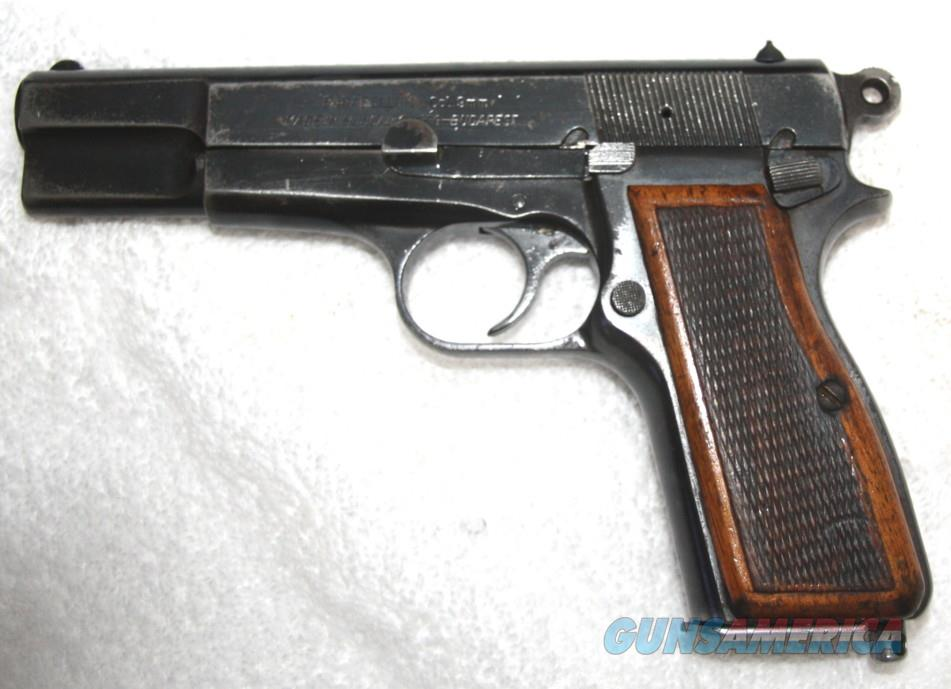 Hungarian FEG Pistol FEG 9mm Pistol Hi-Power Style S/A, 4.75 Barrel, S 9mm Para   Guns > Pistols > FEG Pistols