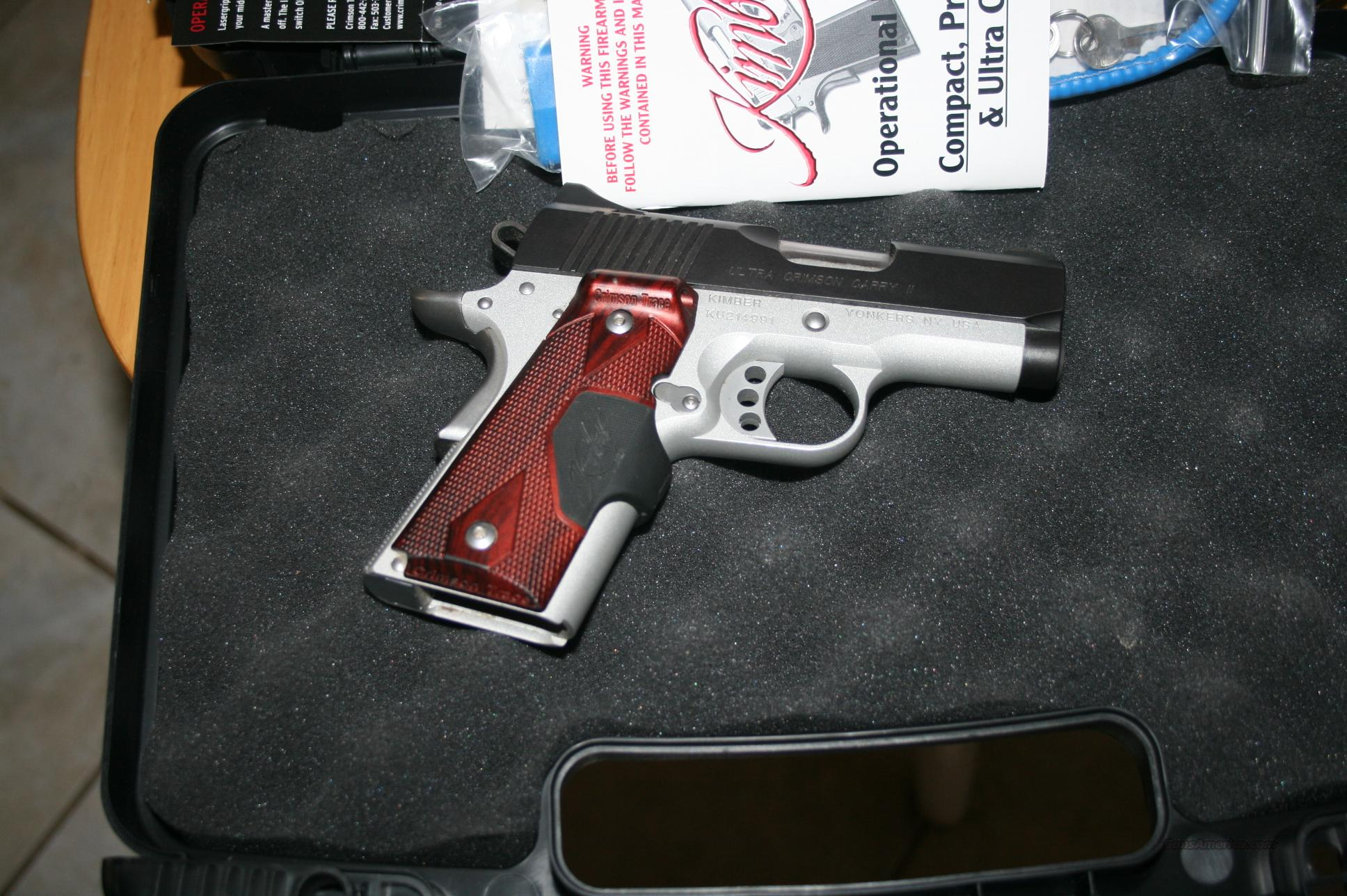 KIMBER  Ultra Crimson Carry 11  Guns > Pistols > 1911 Pistol Copies (non-Colt)