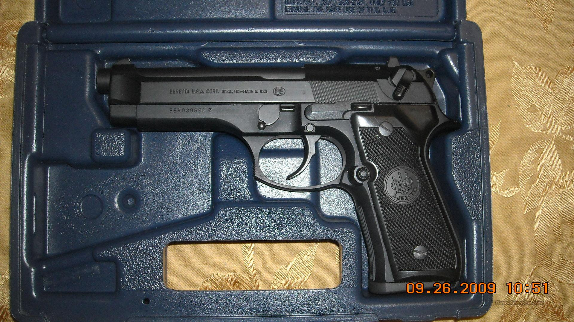 Beretta 92F-S, USA  Guns > Pistols > Beretta Pistols > Model 92 Series