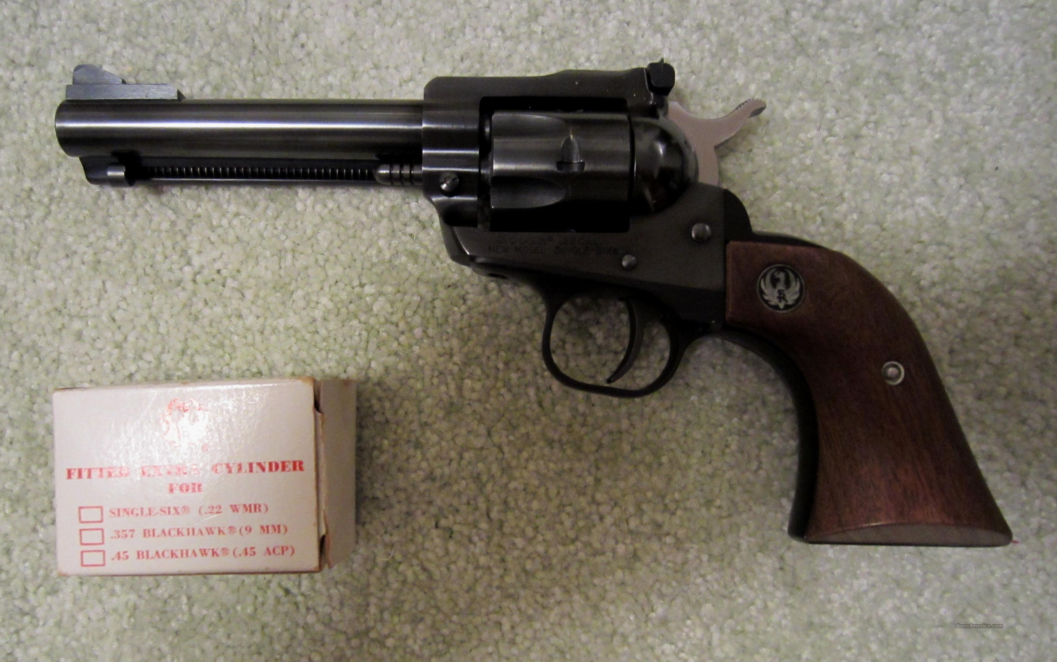Ruger New Model Single Six .22 Convertible  Guns > Pistols > Ruger Single Action Revolvers > Single Six Type