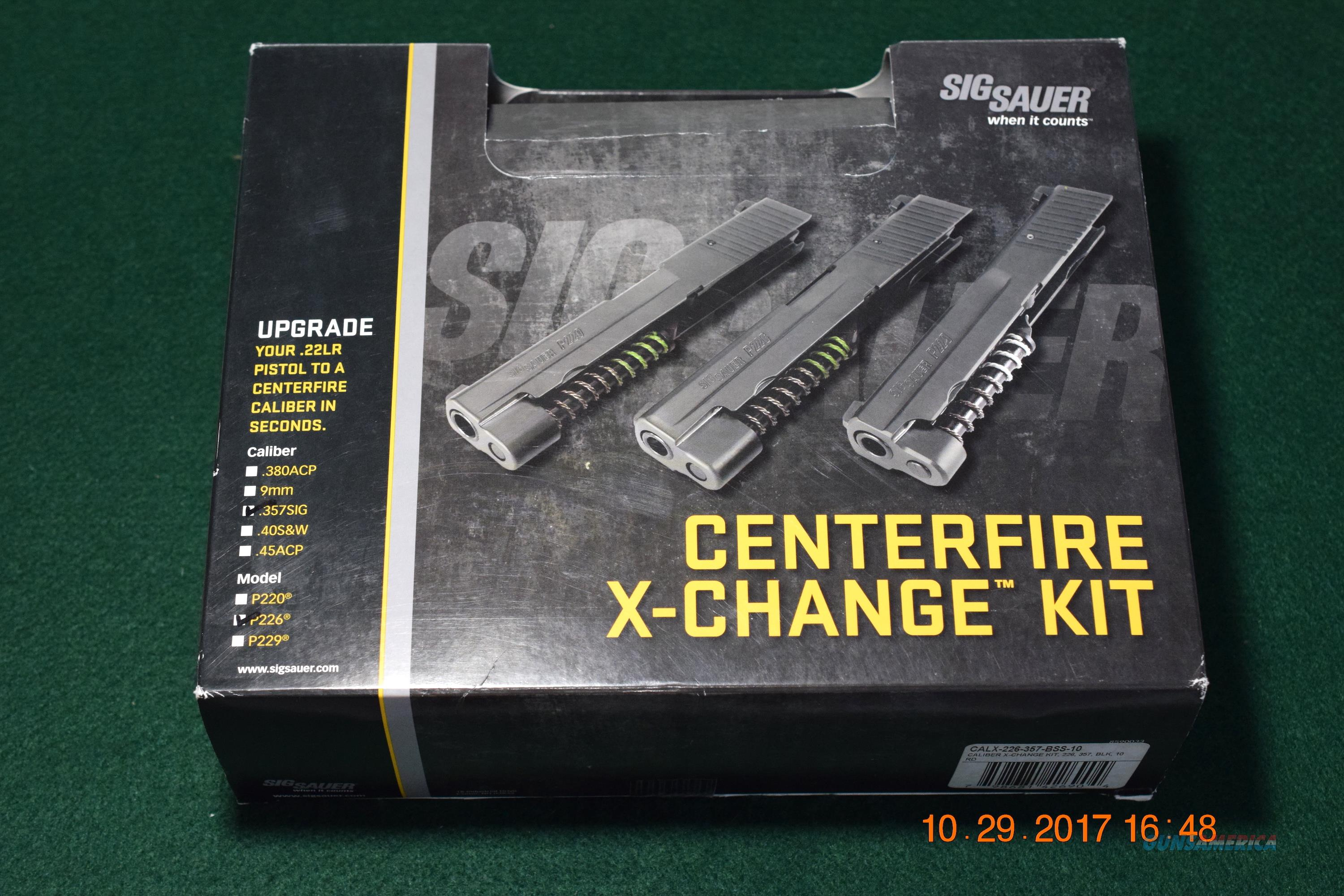 SIG SAUER P226 .40 ELITE CALIBER EXCHANGE (X-CHANGE) KIT  Non-Guns > Barrels