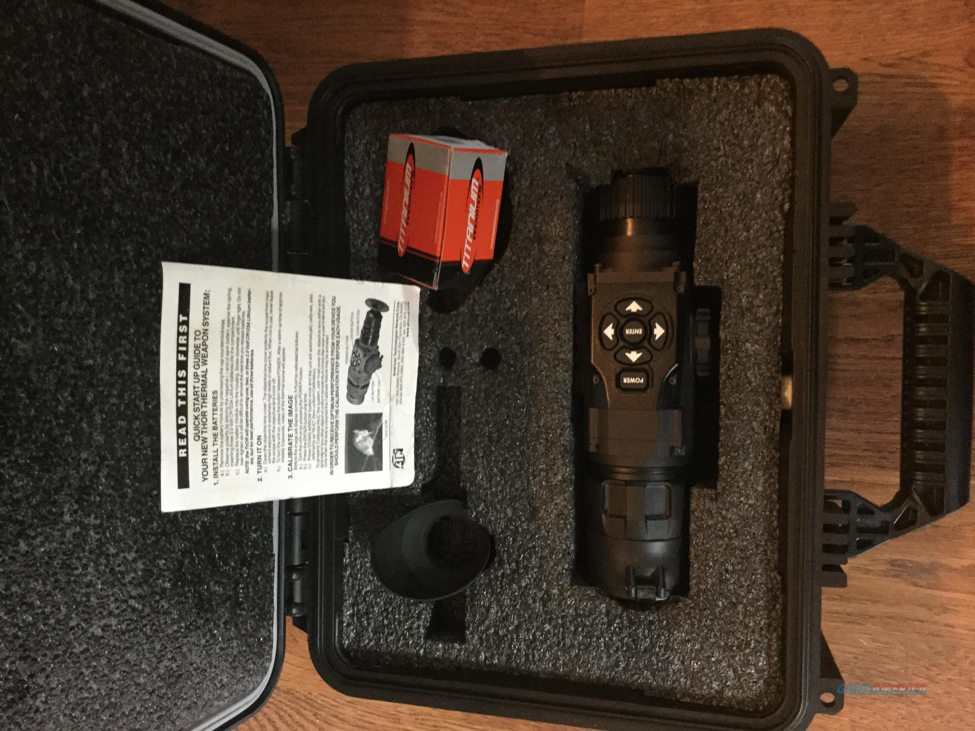 Thor-640 2.25x18 almost new in case  Non-Guns > Night Vision