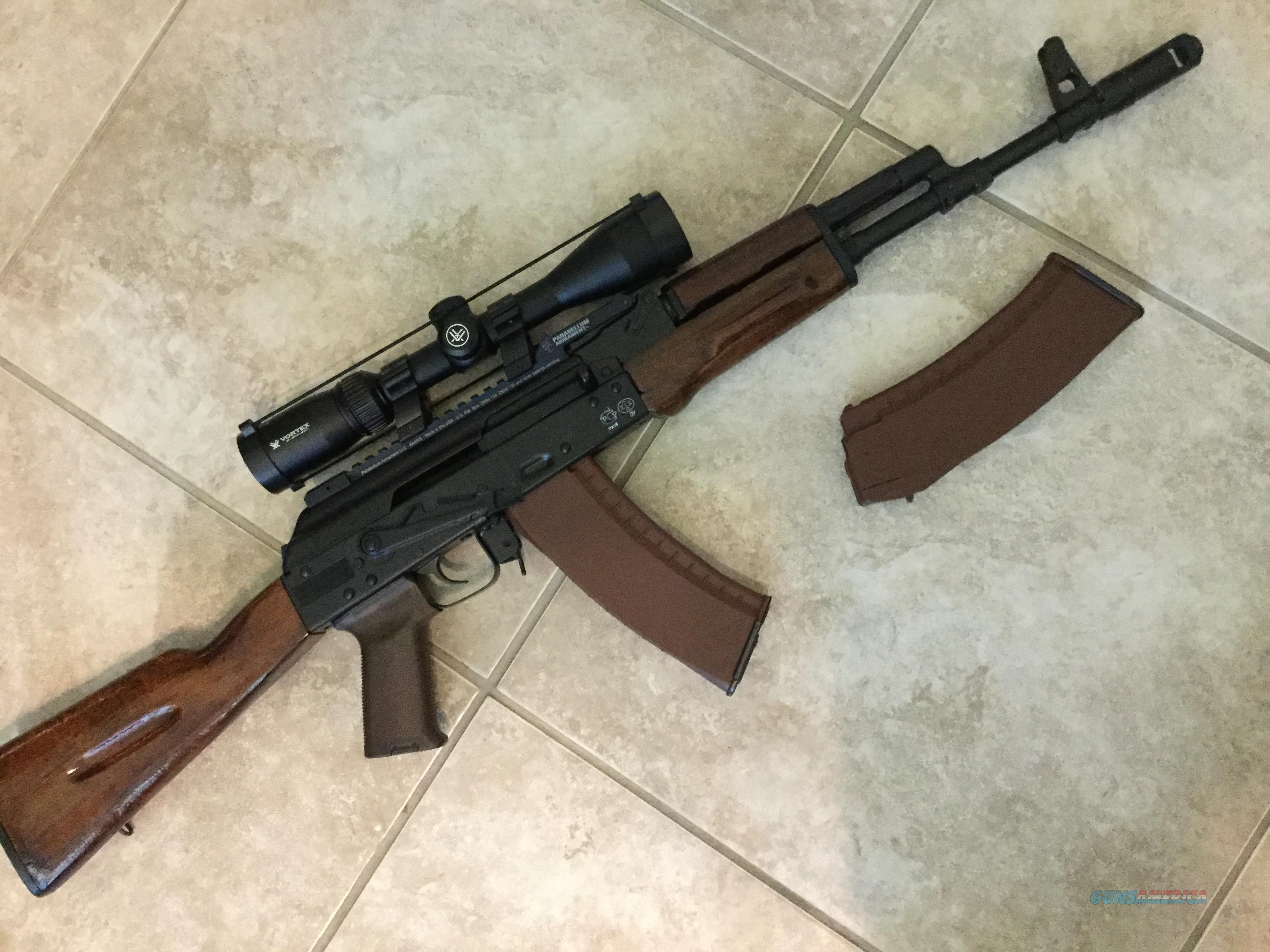 AK-74 Saiga 5.45x39 BANNED !!!  Guns > Rifles > AK-47 Rifles (and copies) > Full Stock