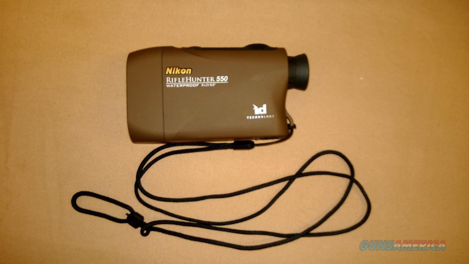 RANGE FINDER: NIKON RIFLE HUNTER 550  Non-Guns > Scopes/Mounts/Rings & Optics > Non-Scope Optics > Rangefinders