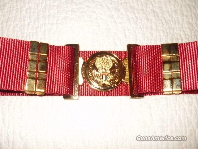 RARE, NEW, UNITED ARAB EMIRATES GENERAL'S BELT and BUCKLE  Non-Guns > Military > Web Gear