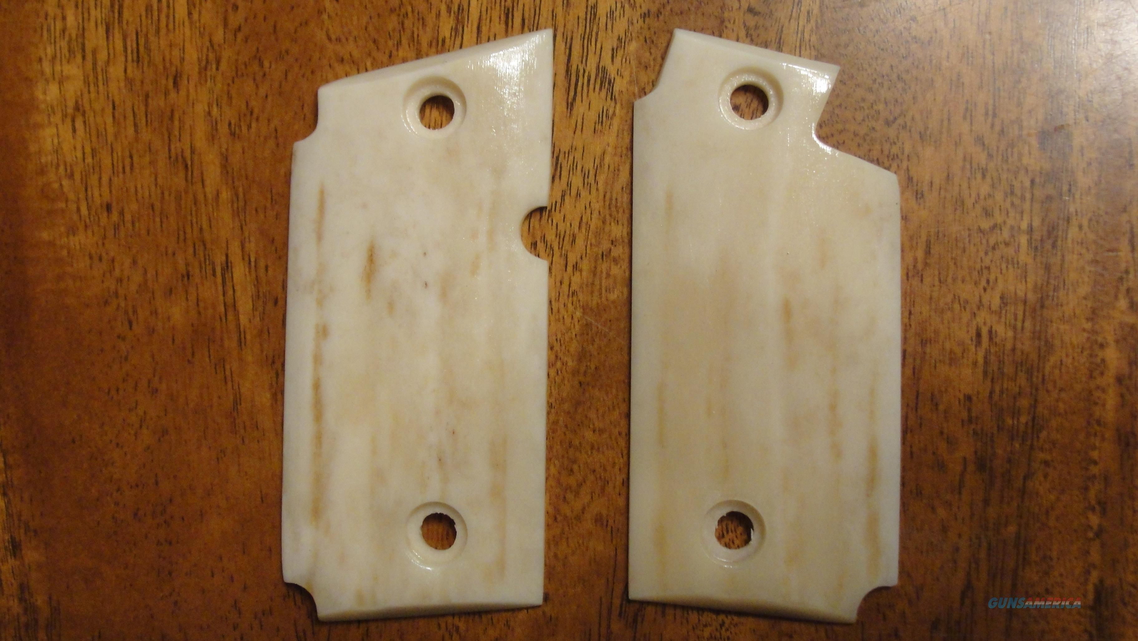NEW PAIR of REAL ELK HORN STAG GRIPS for SIG P238  Non-Guns > Gun Parts > Grips > Other