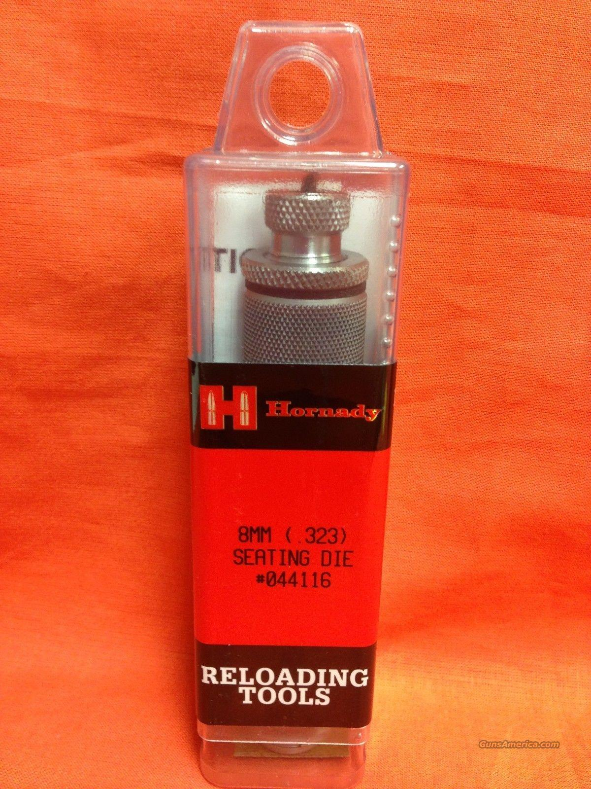 HORNADY 8MM SEATING DIE, FREE SHIPPING  Non-Guns > Reloading > Equipment > Metallic > Dies