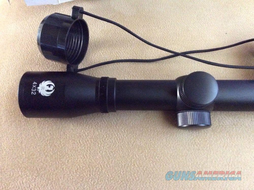 RUGER 4x32 scope with rings, NIB  Non-Guns > Scopes/Mounts/Rings & Optics > Rifle Scopes > Variable Focal Length