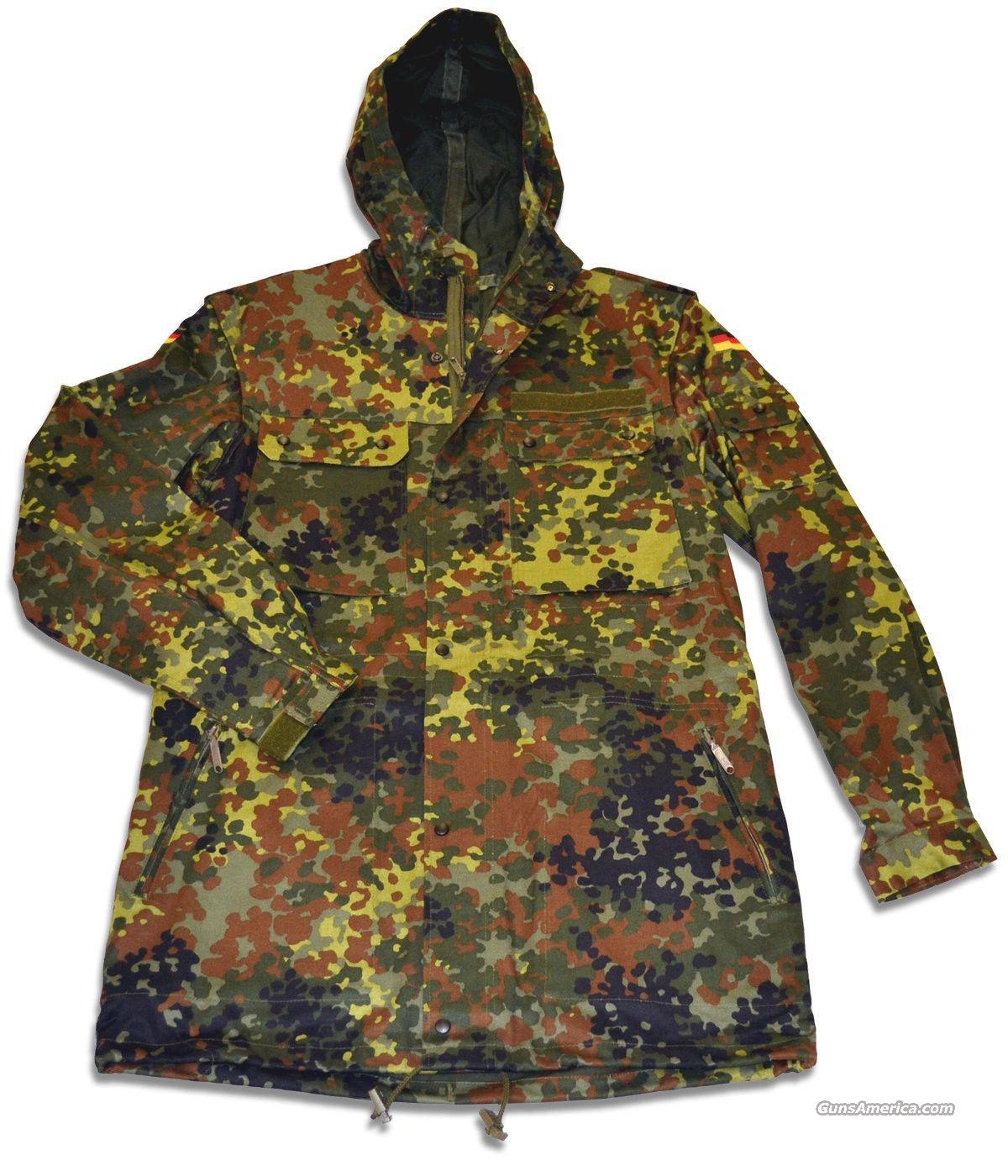 WAREHOUSE BLOWOUT! DEALER LOT OF 10 NEW GERMAN FLECKTARN PARKAS  Non-Guns > Hunting Clothing and Equipment > Clothing > Camo Outerwear