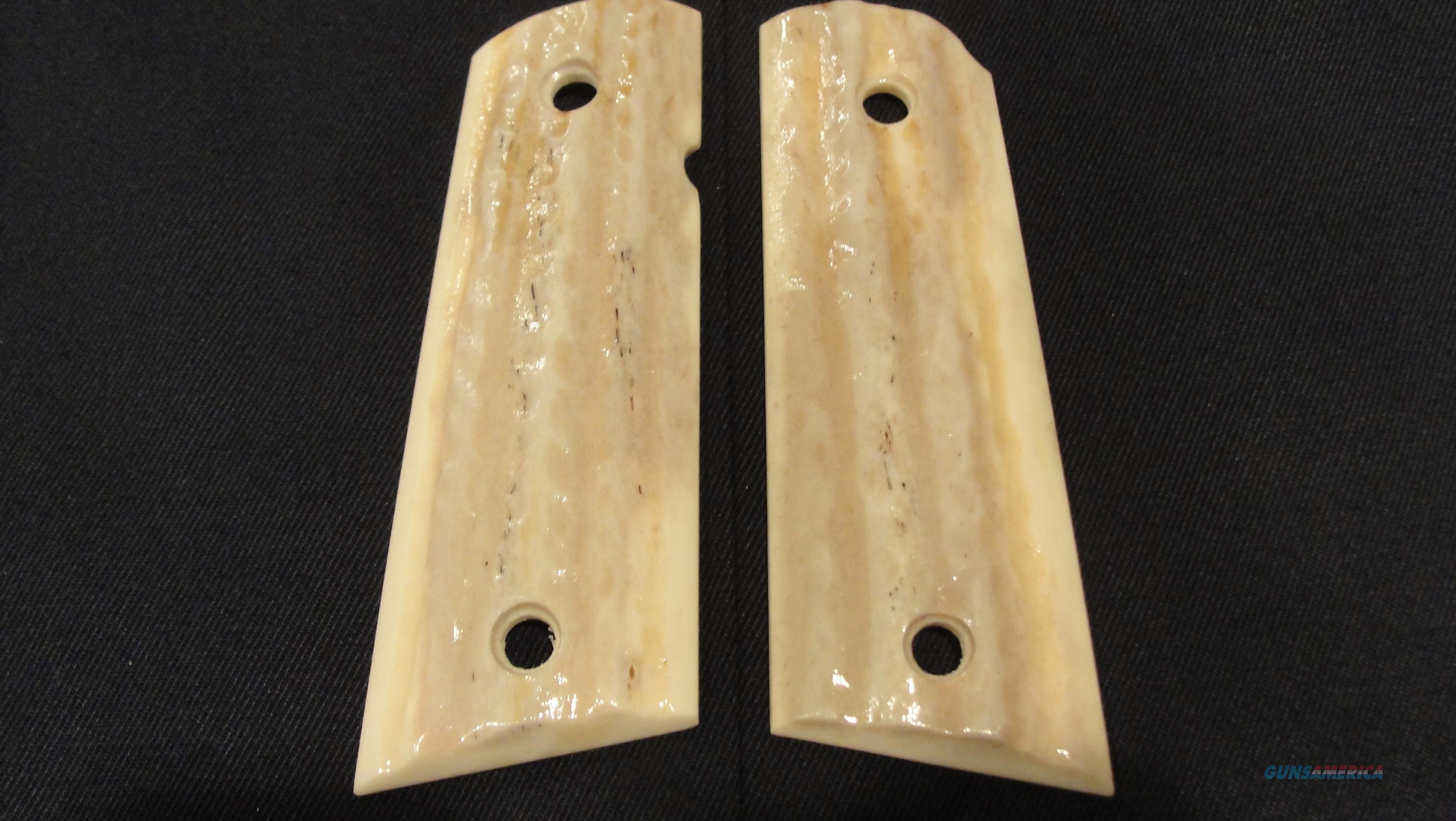 NEW PAIR of REAL ELK HORN STAG GRIPS for COMPACT 1911's  Non-Guns > Gun Parts > Grips > 1911