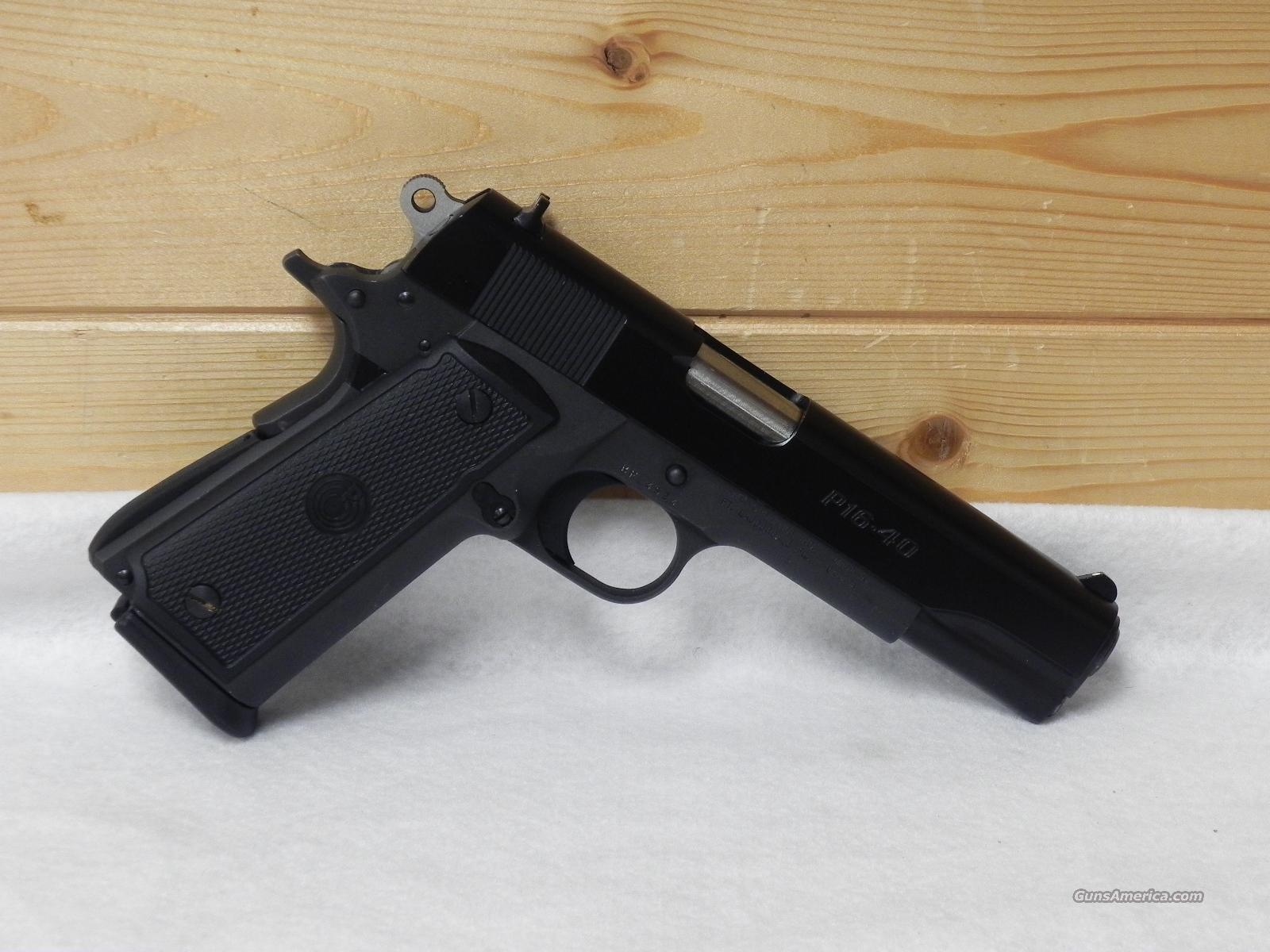 Para-ordnance p-16  40 s&w  Guns > Pistols > Para Ordnance Pistols