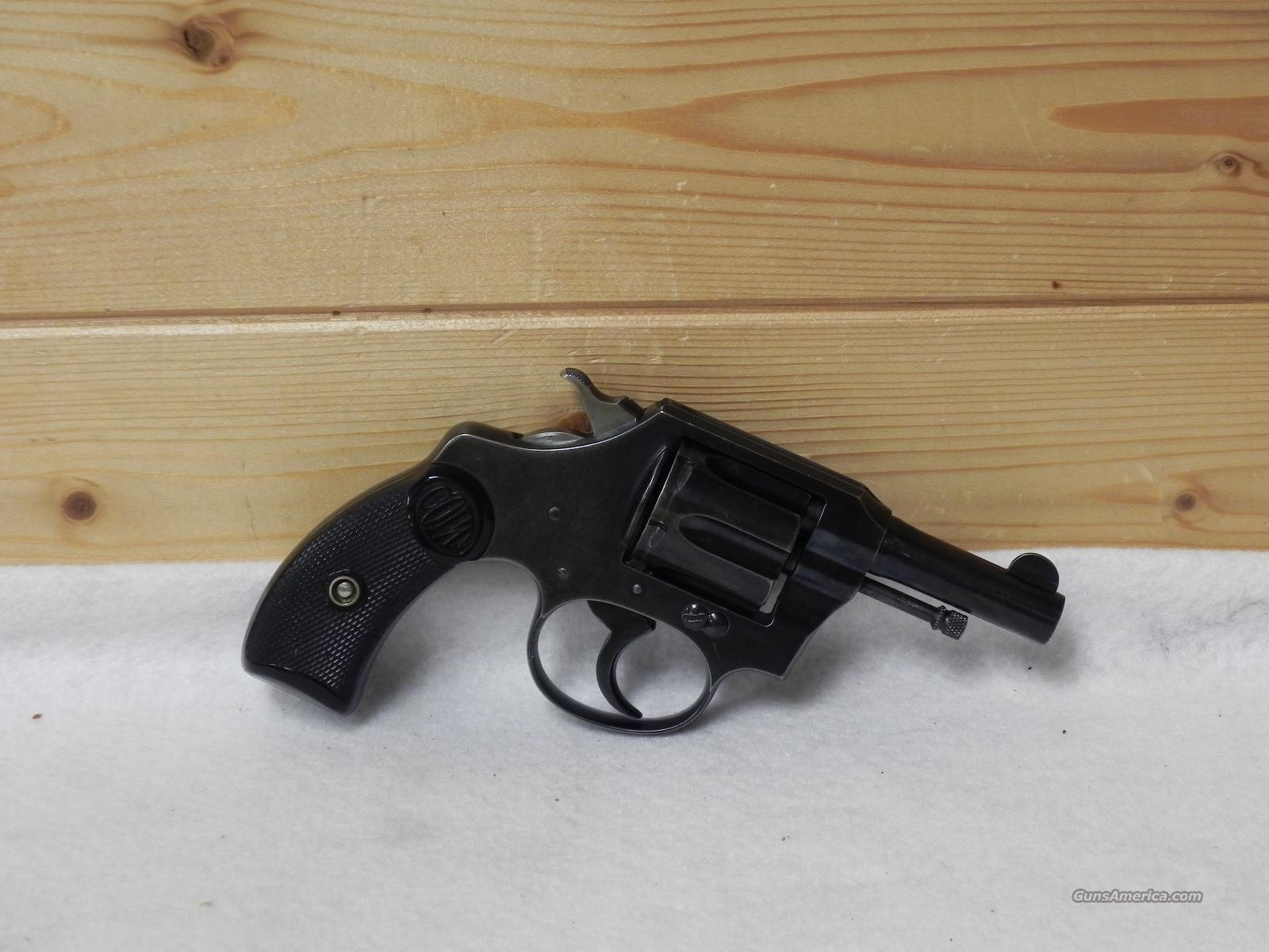 Colt pocket positive 32 police  Guns > Pistols > Colt Double Action Revolvers- Pre-1945
