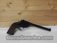 H&R  single shot 22 LR  USRA model  Harrington & Richardson Pistols