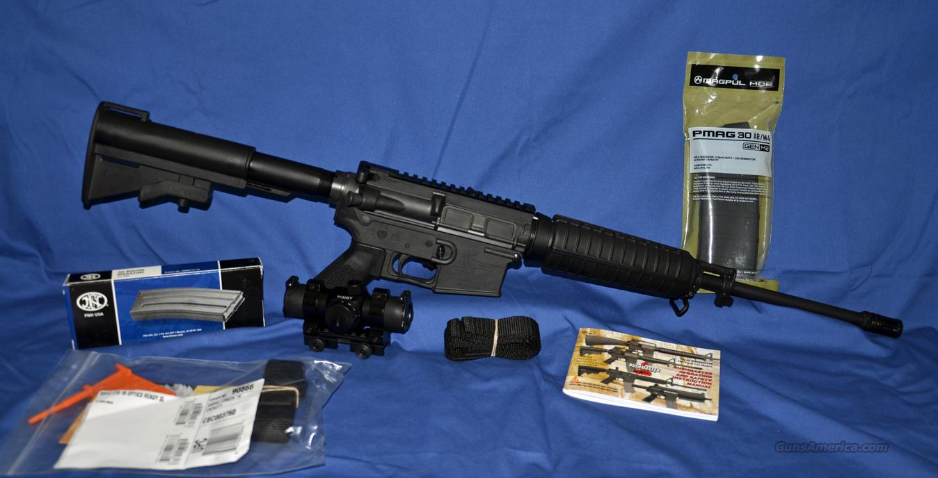 BUSHMASTER CAR 15 OPTICS READY WITH RED DOT SCOPE AND TWO 30 RND MAGS NIB  Guns > Rifles > Bushmaster Rifles > Complete Rifles