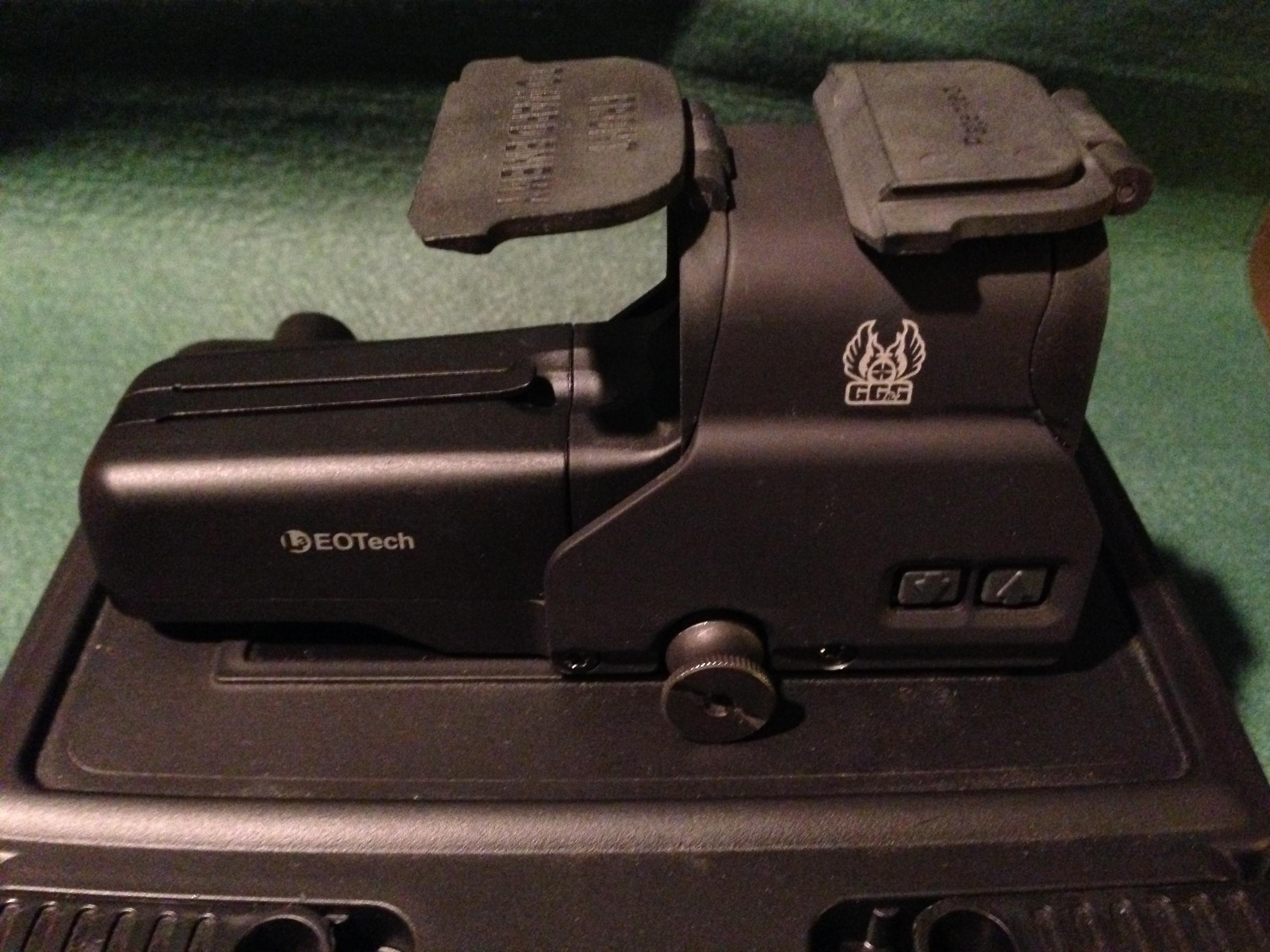 Unused Eotech 517 + GG&G Lens Cover  Non-Guns > Scopes/Mounts/Rings & Optics > Tactical Scopes > Red Dot