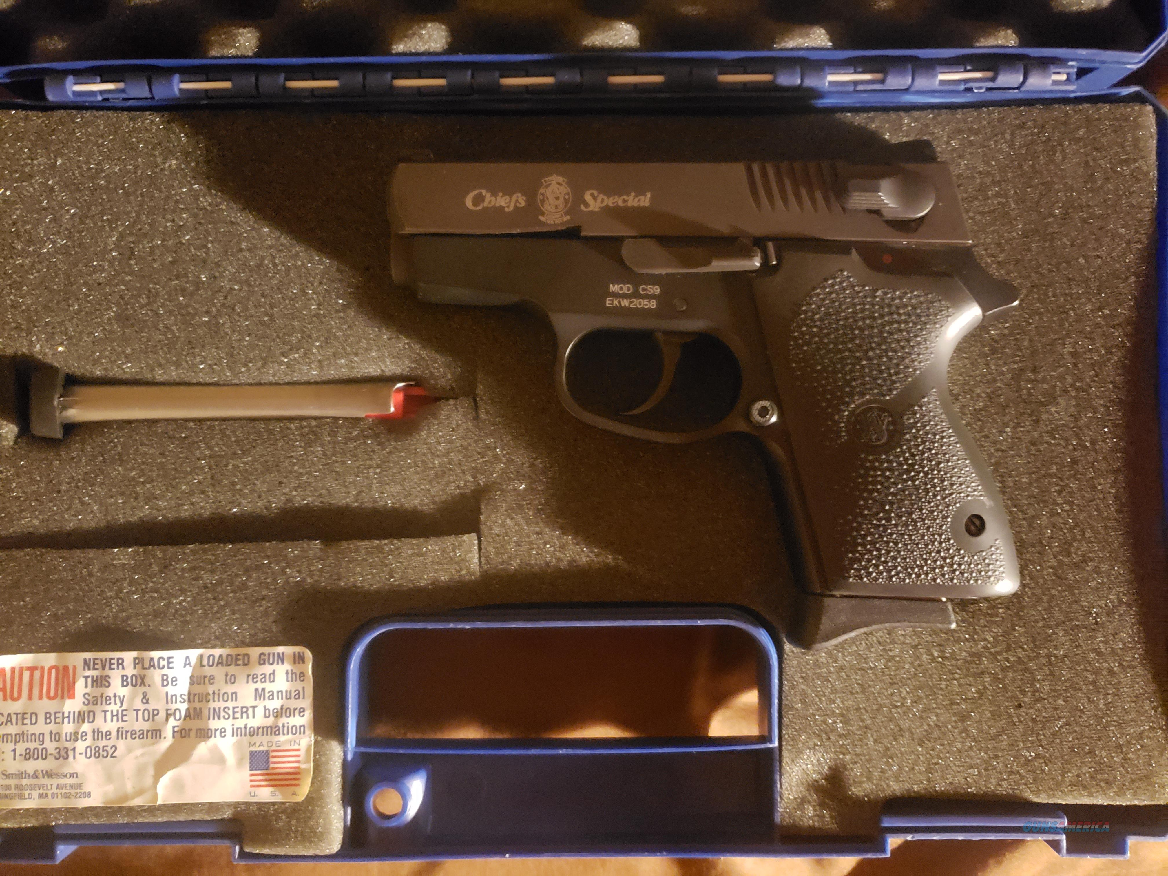 99% Smith and wesson cs9 9mm  Guns > Pistols > Smith & Wesson Pistols - Autos > Alloy Frame