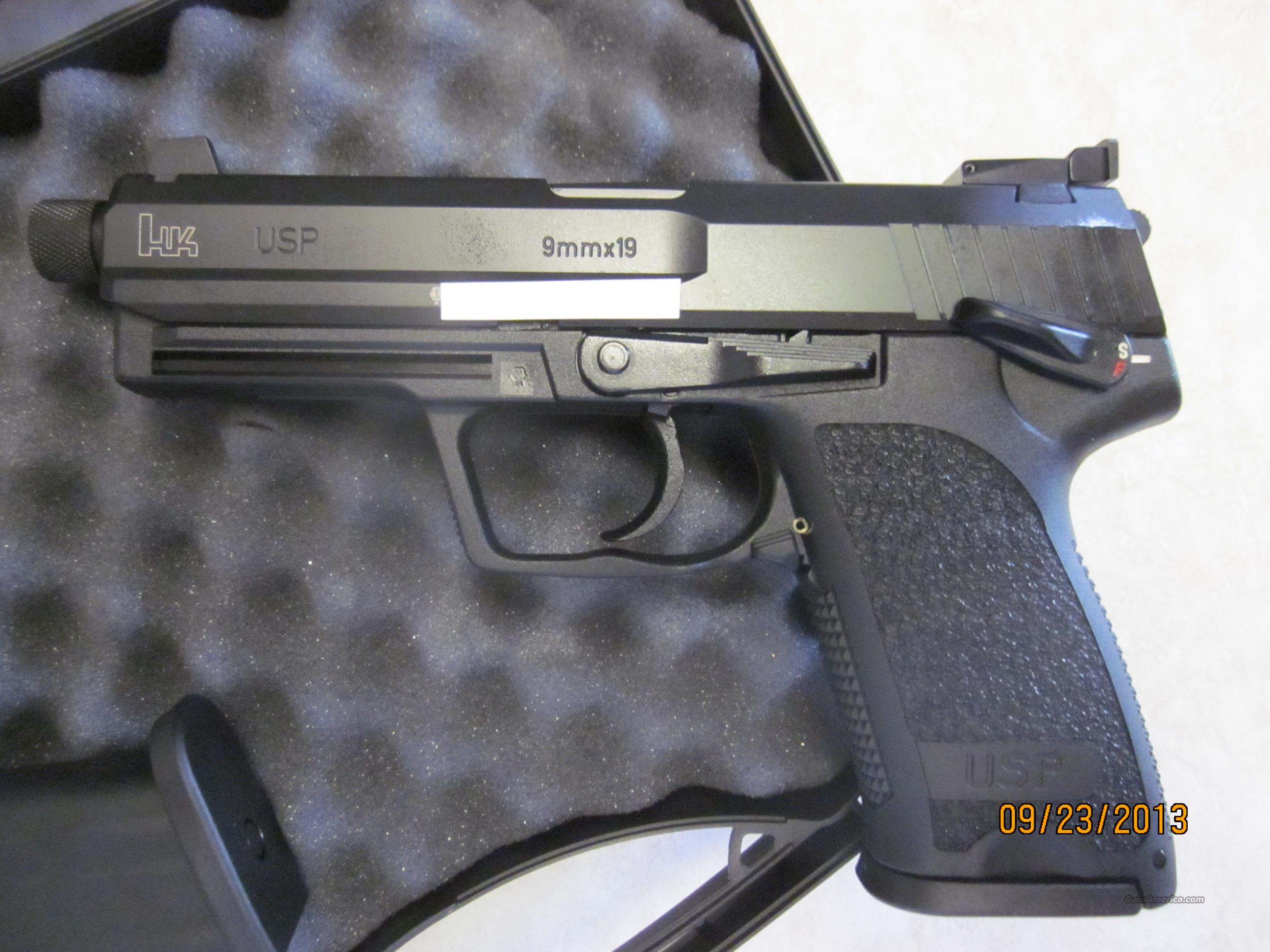 Heckler & Koch HK USP Tactical SD 9mm NIB  Guns > Pistols > Heckler & Koch Pistols > Polymer Frame