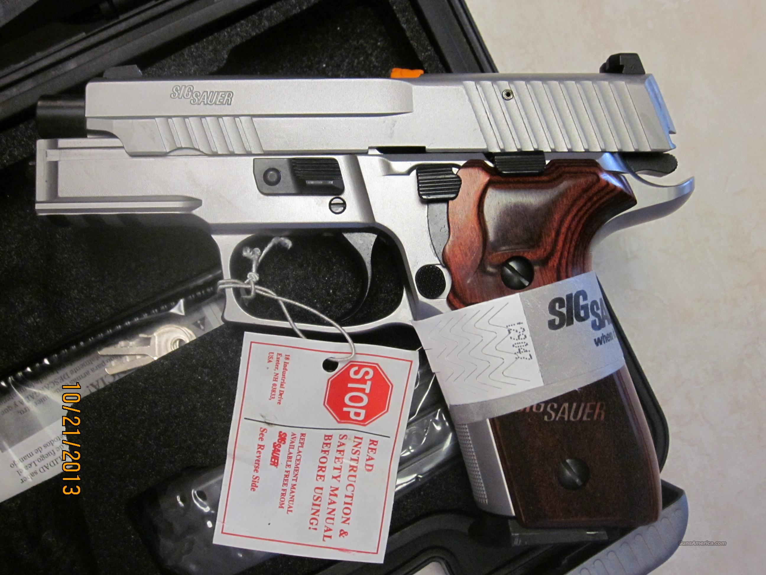 Sig Sauer P229 Elite Stainless SS 9mm 10 Rd or 15 Rd. NIB  Guns > Pistols > Sig - Sauer/Sigarms Pistols > P229
