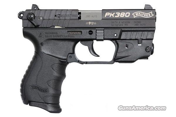Walther PK380 w/ Laser - Black  Guns > Pistols > Walther Pistols > Post WWII > PK380