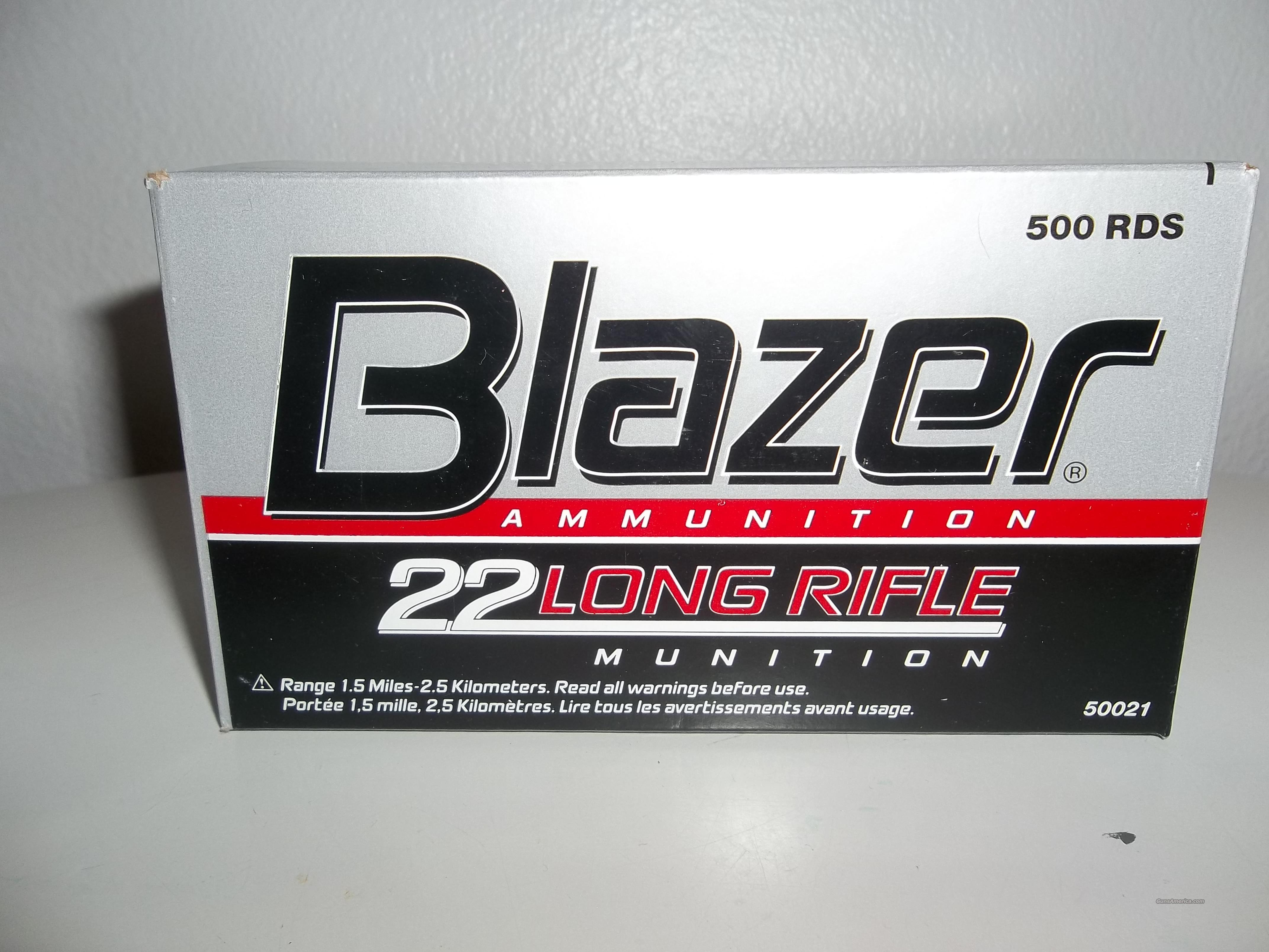 Blazer 22 Long Rifle ammunition   Non-Guns > Ammunition
