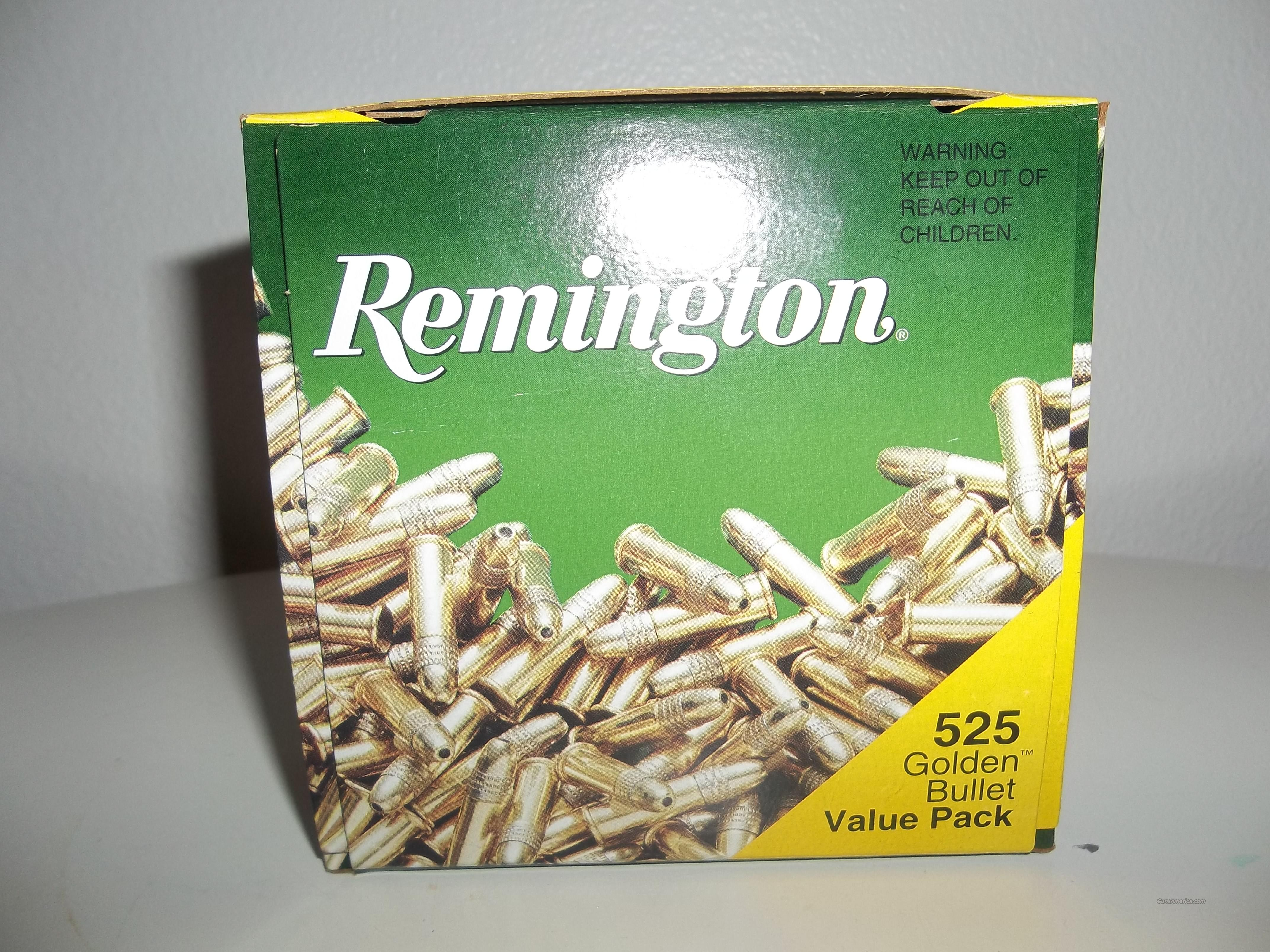 Remington 525 Golden Bullet Hollow Points  Non-Guns > Ammunition