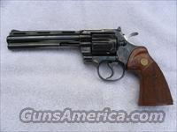"Colt Python 6"" Barrel  Guns > Pistols > Colt Double Action Revolvers- Modern"