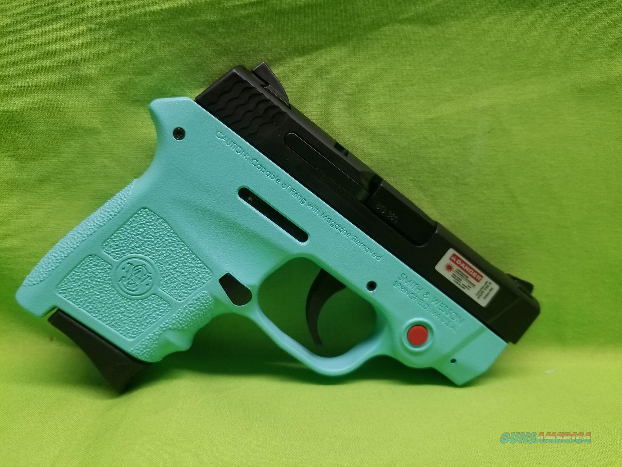 S&W M&P BODYGUARD TIFFANY 380 ACP ROBIN EGG BLUE  Guns > Pistols > Smith & Wesson Pistols - Autos > Polymer Frame