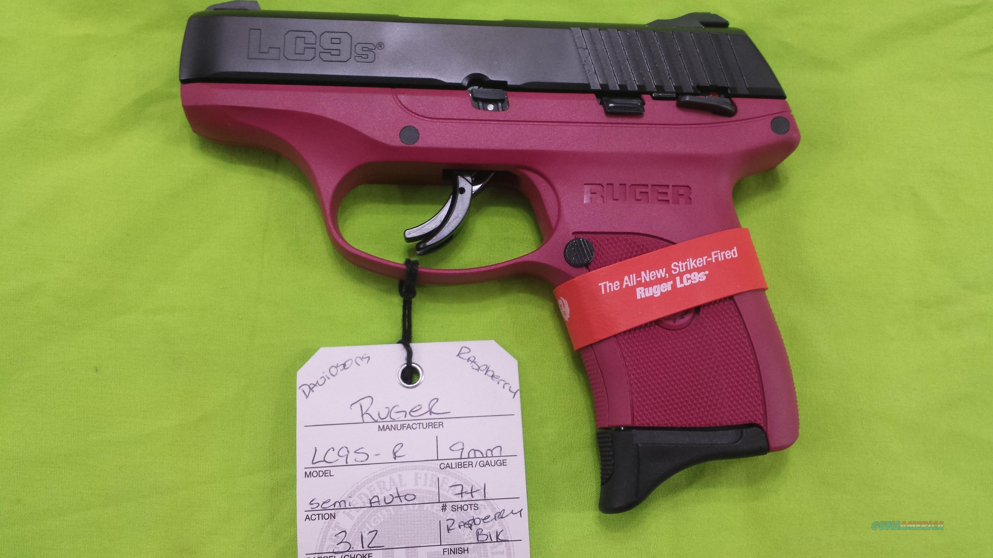 LADIES PINK RUGER LC9S 9 MM 9MM 7RD RASPBERRY LC9  Guns > Pistols > Ruger Semi-Auto Pistols > LC9