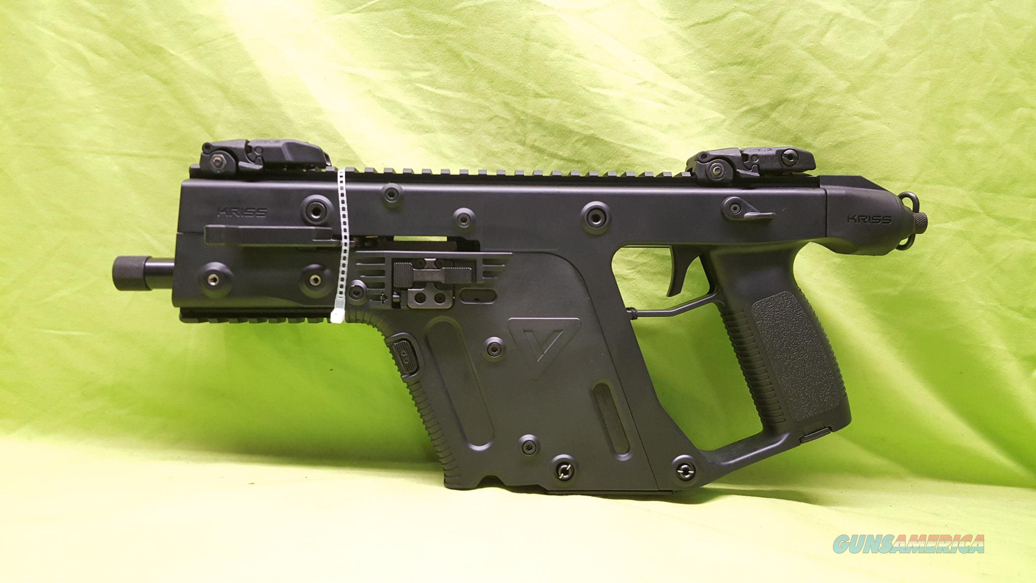"KRISS VECTOR GEN 2 SDP PISTOL 9MM 9 MM 5.5"" BLACK  Guns > Pistols > Kriss Tactical Pistols"