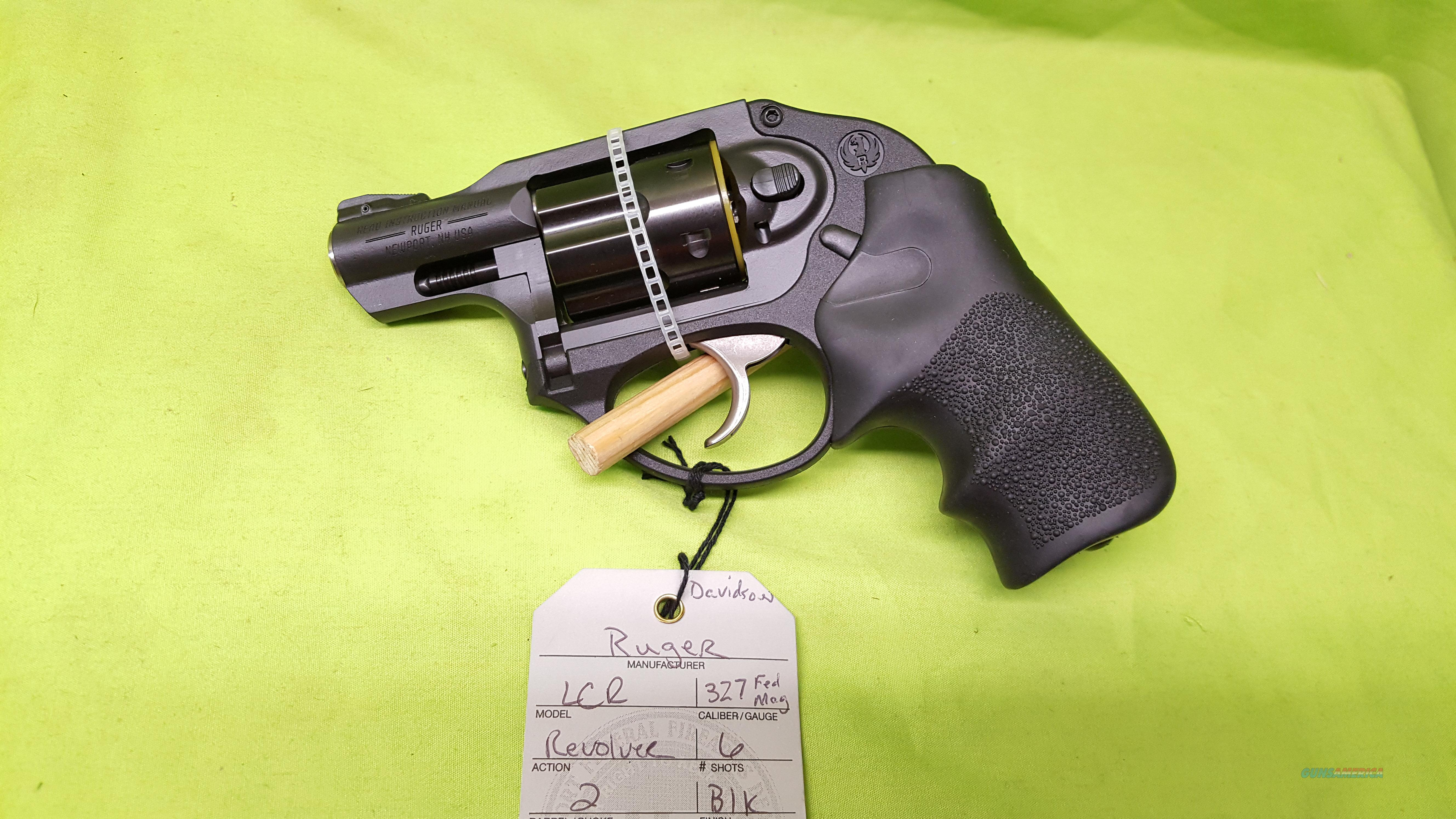 RUGER LCR 327 327FED REVOLVER 6 SHOT 5452  Guns > Pistols > Ruger Double Action Revolver > LCR