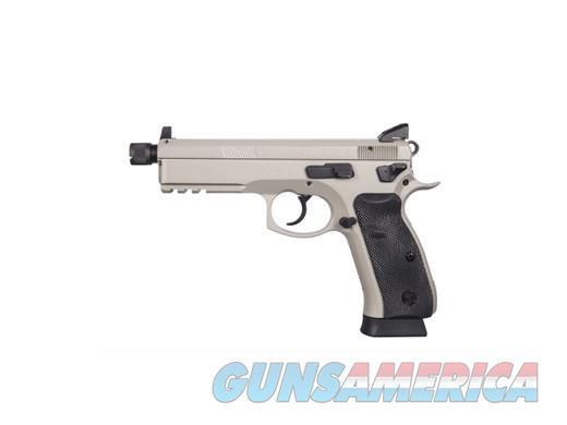 CZ SP-01 SP 01 9MM 18+1 NS URBAN GREY TB 91253  Guns > Pistols > CZ Pistols