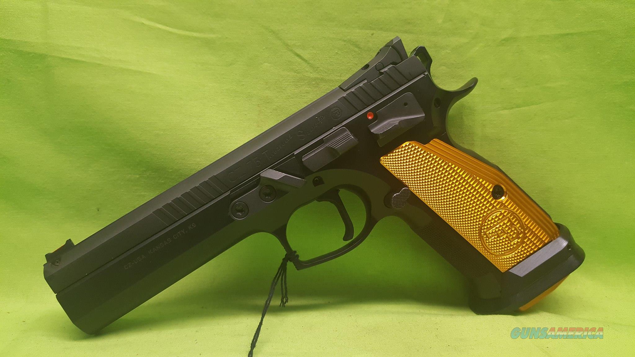 CZ 75 TACTICAL SPORT ORANGE 9 MM 9MM 91261 TACT  Guns > Pistols > CZ Pistols