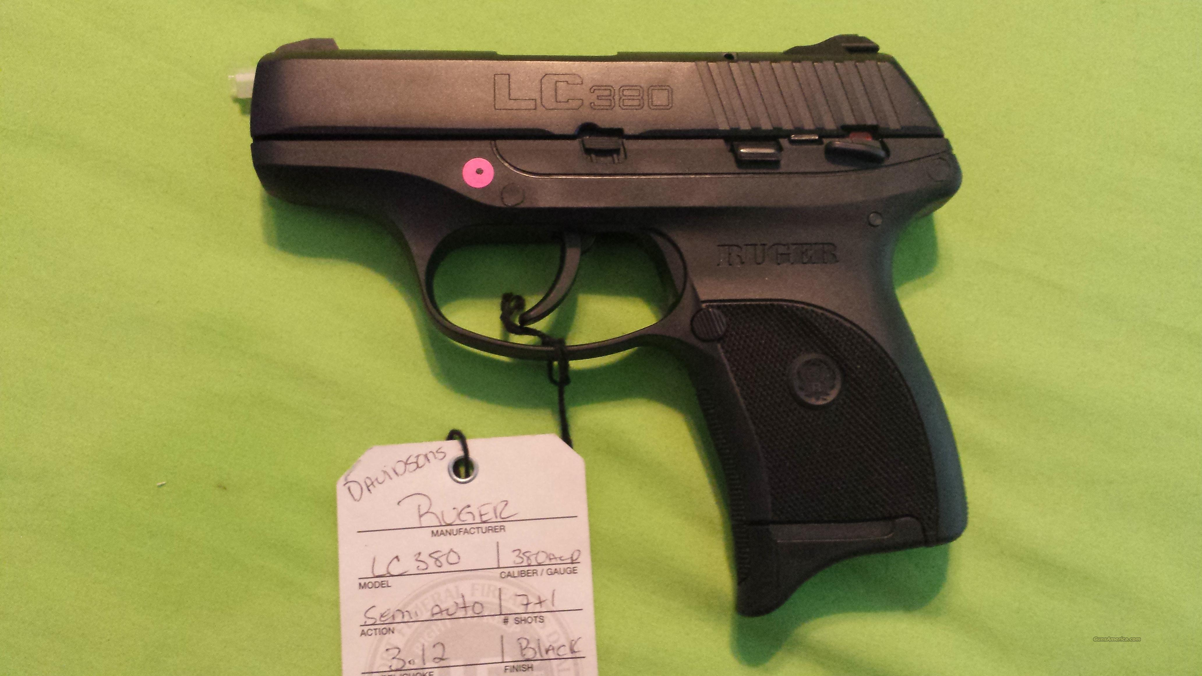 RUGER LC380 LC 380 380ACP 7RD BLK LC9S FRAME 3219  Guns > Pistols > Ruger Semi-Auto Pistols > LC9