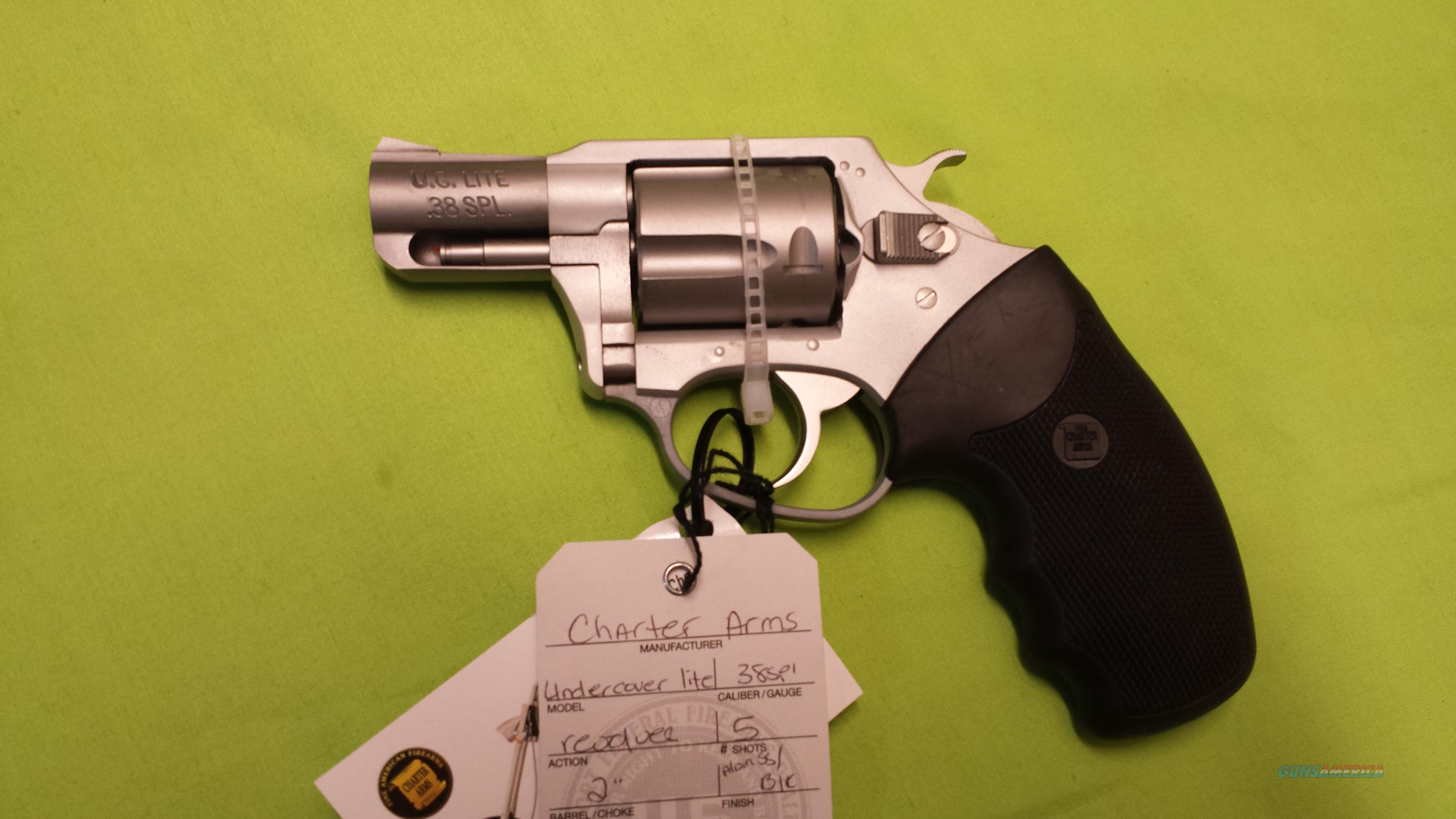 "CHARTER ARMS UNDERCOVER LITE .38 38 SPL 2"" REVOLVER  Guns > Pistols > Charter Arms Revolvers"