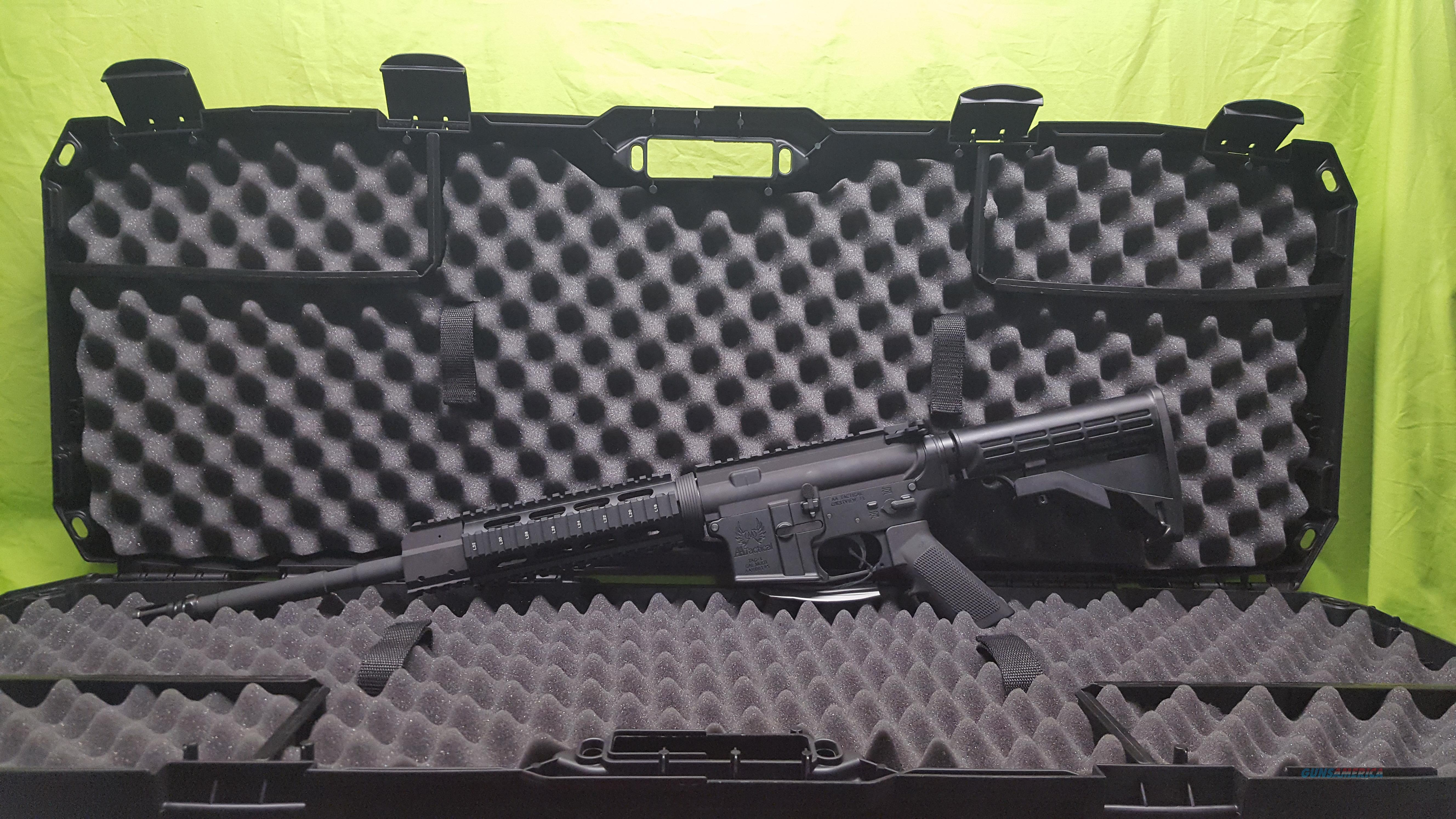 "AA TACTICAL TAC-L STD QUAD RAIL 5.56 16"" BLACK  Guns > Rifles > A Misc Rifles"